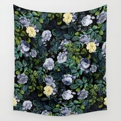 Future Nature Wall Tapestry