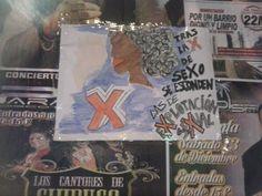 """""""LO QUE SE ESCONDE"""". Cartel instalado en la calle Bravo Murillo que invite a la reflexión acerca de la explotación sexual. AUTOR/A: PALOMA."""