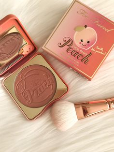 Too Faced Papa Don't Peach Blush - #ad #TooFacedCosmetics #Blush #cosmetics #makeup #beauty