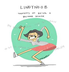 This is a short comic about my experiences when first learning how to dance the amazing dance called lindy hop!