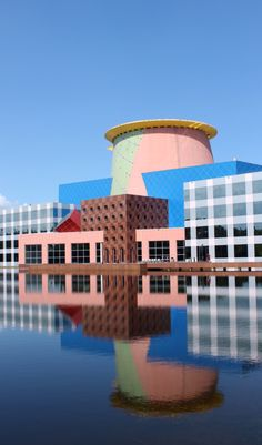 The Triumph of Postmodernism — Team Disney Building, Arata Isozaki, 1989-91...