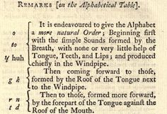 Ben Franklin's Phonetic Alphabet - Franklin developed his phonetic alphabet in 1768 but it wasn't published until 1789, when Noah Webster, intrigued by Franklin's proposal, included its description in his book Dissertations on the English Language. Because, Webster lacked the type blocks to illustrate Franklin's changes, the alphabet wouldn't be seen until Franklin had new blocks cast to print the alphabet for his 1779 collection of writings, Political, Miscellaneous, & Philosophical Pieces.