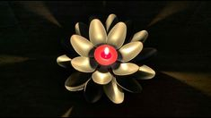 DIY: Candle Holder Flower {MadebyFate} #449