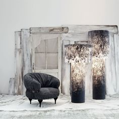 Diesel Pipe Tall Floor Lamp Online From Occa-Home