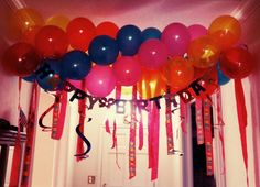 Balloons = Party Time!