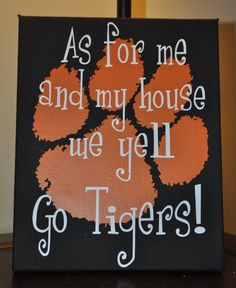 Clemson Tigers for-the-home