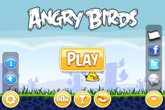 Angry Birds Main Menu