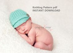 INSTANT+DOWNLOAD+Ribbed+Newsboy+Hat+Knitting+Pattern+in+by+4aSong,+$4.00