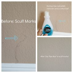 20 Minute Mom: {Cleaning} How to Remove Scuff Marks