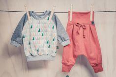 Sets - Set Raglan-Shirt und Hose aus Bio Baumwolle - ein Designerstück von Leo_Loewenherz bei DaWanda