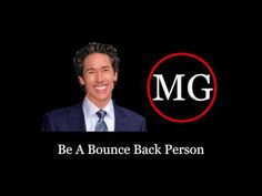 Joel Osteen - Be A Bounce Back Person - YouTube