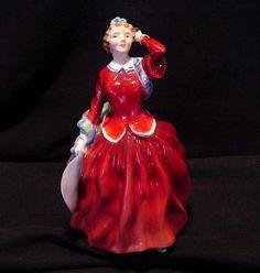 "Royal Doulton Figurine ""BLITHE MORNING"" Designed By Leslie Harradine 1948"