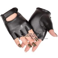 2015 women's Sexy racerback driving gloves short PU leather gloves female semi finger dance fingerless gloves -inGloves & Mittens from Women's Clothing & Accessories on Aliexpress.com | Alibaba Group