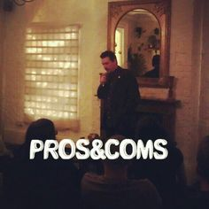 #prosandcoms