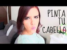 ¡PINTA TU CABELLO EN CASA COMO PROFESIONAL! (TIPS) -Yuya - YouTube