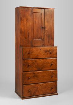 Cupboard 1800-1850 New York Pine