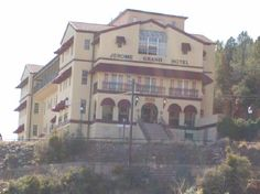 Jerome Grand Hotel in Jerome, Arizona.   Many ghost sighting seen and photographed.