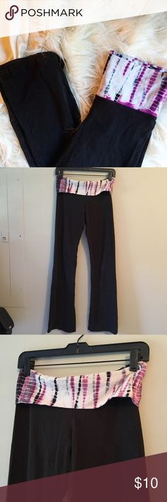 Active Wear: Tie-dyed yoga pants Pre-loved. Great condition. YOGA Pants
