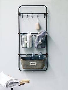 NEW Vintage Style Bath Rack     Cox & Cox