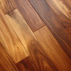 Acacia Natural x Smooth Tobacco Road Solid Hardwood Flooring Small Basement Furniture, Basement Apartment Decor, Small Basement Apartments, Basement Living Rooms, Modern Basement, Acacia Wood Flooring, Engineered Hardwood Flooring, Wooden Flooring, Hardwood Floors