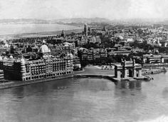 Aerial View of Mumbai 1940 - 1880 to 1950 : Rare Old Mumbai Photos - (10 Pictures)