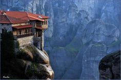 10. Meteora, Greece