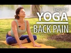 Yoga For Back Pain - 25 Minute Back & Neck Stretch. Beginners Yoga Flow - YouTube