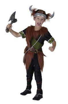 Viking Warrior Boys Fancy Dress School Child Kids Costume + Helmet Ages 3-10 Y | eBay