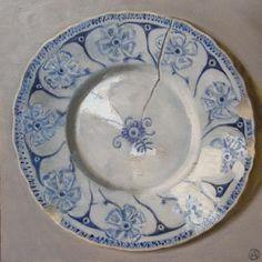 Old French Plate - Olga Antonova