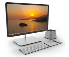A desktop computer is designed so that the system unit, input devices, output devices, and any other devices fit entirely on or under a desk or table.