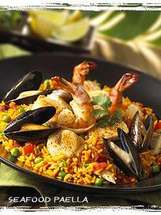 Seaffod Paella from Bahama Breeze Island Grille in Seattle Southside.