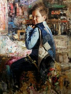 Vladimir Muhin /Владимир Мухин, 1971 | Impressionist Figurative painter | Tutt'Art@