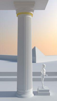 Corinthian Column [Architecture]