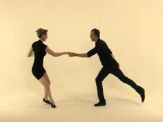 """Swivel Summary and Freestyle Demo (5_5)"" - Lindy Hop Dance Lesson by Kevin St. Laurent & Jo Hoffber - YouTube"