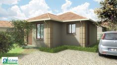 3 Bedroom Plan, Close Proximity, Pretoria, Tuscan Style, Affordable Housing, Stepping Stones, Townhouse, First Time, Shed