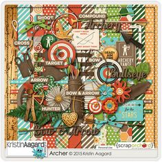 Kit: Archer by Kristin Aagard Designs  http://scraporchard.com/market/digital-scrapbooking-kit-archer.html