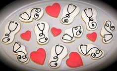 Nurse Doctor Stethoscope cookies