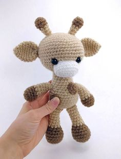 PATTERN: Gabi the Giraffe Crochet giraffe pattern
