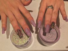 How To Ly Colored Dip Powders Nails Magazine