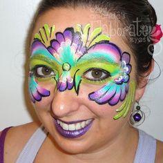 DIY Mask Face Paint