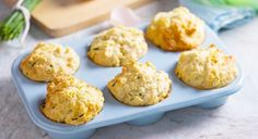 CHEESE & CHIVE MUFFINS  Muffins as savory appetizers are very common and popular in the last 10 years in Macedonia. Almost every housewife holds a muffin pan in the kitchen. Muffins are ease to made and tasty too. There are many recipes, lets start with this one.