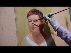 Painting the Portrait: An Alla Prima Oil Painting Demonstration Portraits, Tutorials, Oil, Videos, Youtube, Painting, Painting Art, Head Shots, Paintings