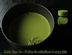 Matcha has approximately 70 times the antioxidants of orange juice and 9 times the beta-carotene of spinach. Matcha literally has more antioxidant power than blueberries. #matcha #greentea #redleaftea