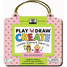 Reusable drawing and magnet kit #begreen