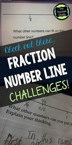 There is nothing better to help you REALLY know what students know about fractions than number line explorations. Check out this blog post with some great ideas on how to get your students thinking deeply and talking about fractions!