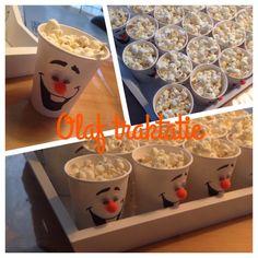 Olaf traktatie! Frozen Olaf Popcorn cup ;-)