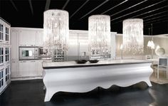Showcase Of Beautiful And Overwhelming Large Luxury Kitchens 1
