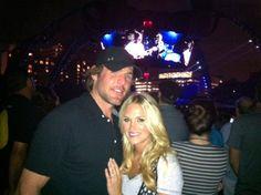 Carrie Underwood Attends U2 Concert In Nashville