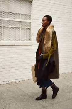Street fashion NYFW Fall 2016