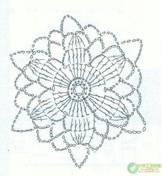 many photos & graphs Crochet Snowflake Pattern, Crochet Motif Patterns, Crochet Snowflakes, Crochet Diagram, Crochet Chart, Crochet Squares, Crochet Doilies, Crochet Flowers, Crochet Stitches